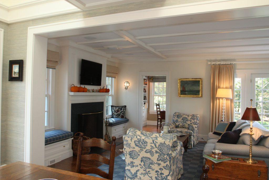 kitchen open floor plan into living room