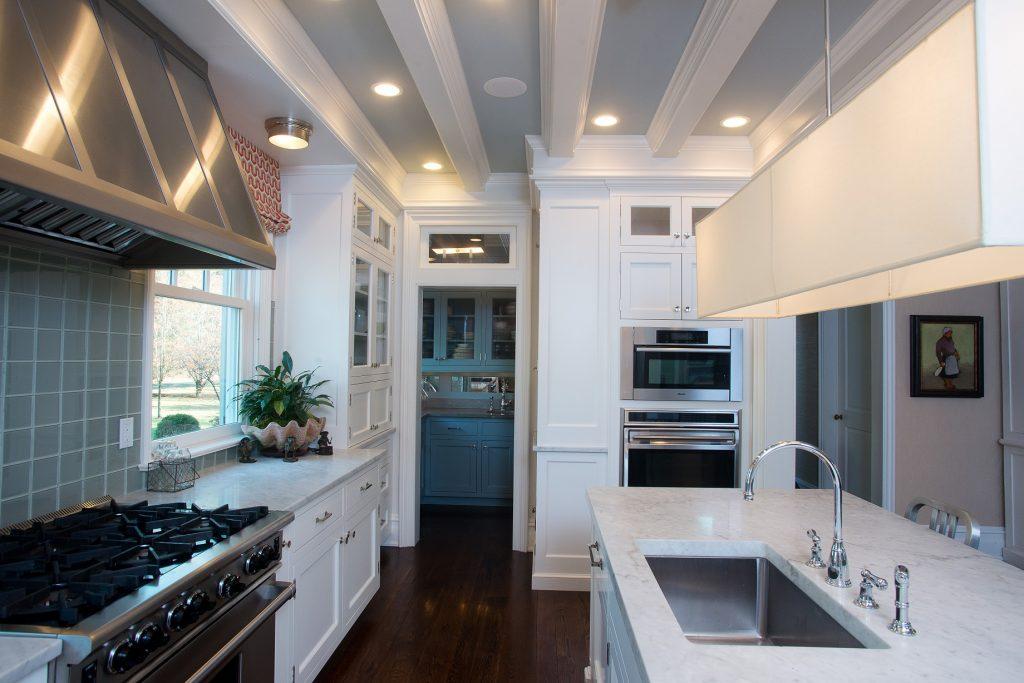 soft green kitchen design