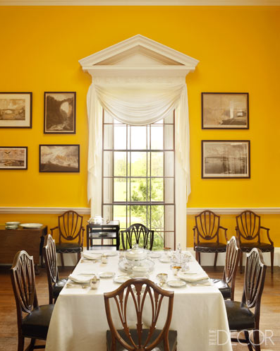 dining room monticello yellow