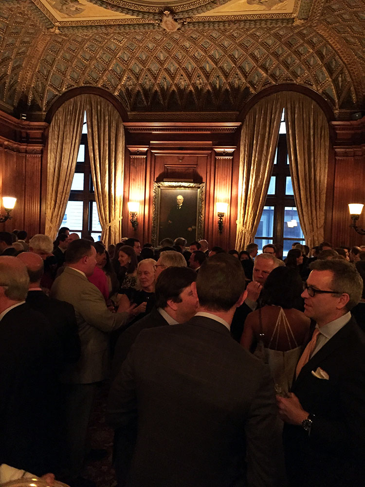 Attendees at the Arthur Ross Awards for Classical Architecture